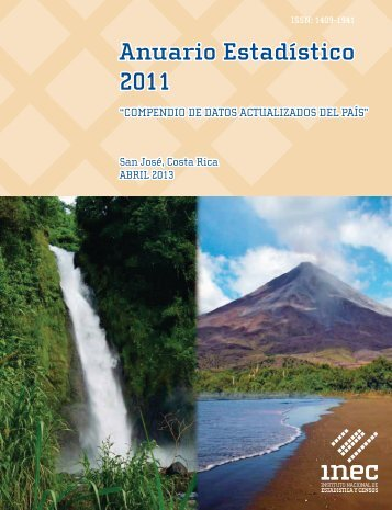 Costa Rica Yearbook - 2011