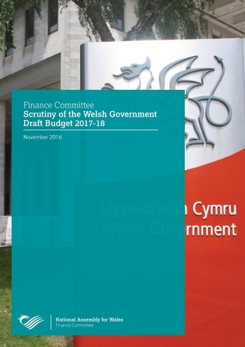 Finance Committee Scrutiny of the Welsh Government Draft Budget 2017-18