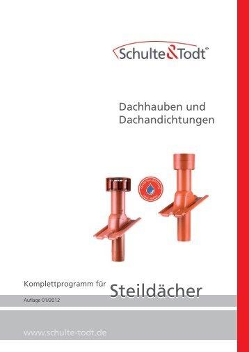 Dachhaube - Dachdurchführungen von Schulte & Todt