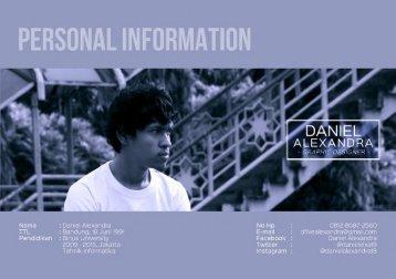 Daniel Alexandra - portfolio