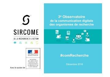 3 Observatoire #comRecherche