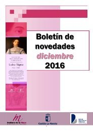 Boletín de novedades diciembre 2016