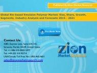 Bio-based Emulsion Polymer Market