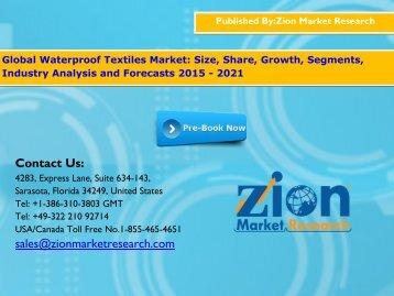 Waterproof Textiles Market