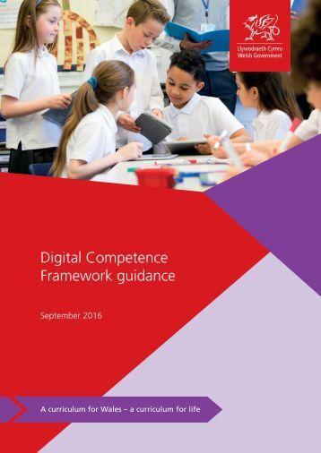 Digital Competence Framework guidance