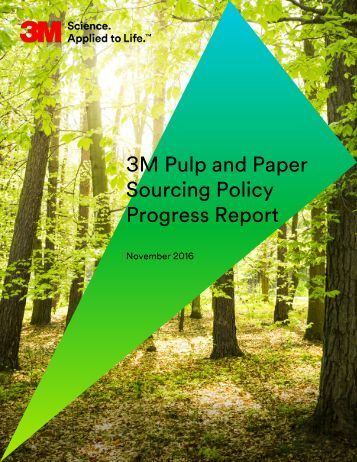 Sourcing Policy Progress Report