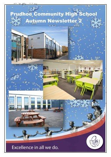 Prudhoe Community High School Autumn Newsletter 2