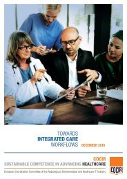 TOWARDS INTEGRATED CARE WORKFLOWS