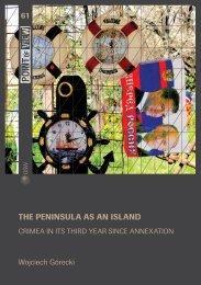 61 The peninsula as an island