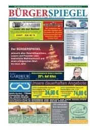 Dezember 2016| Bürgerspiegel