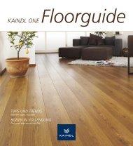 KAINDL ONE Floorguide