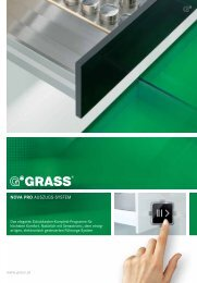 NOVA PRO AUSZUGS-SYSTEM - Grass