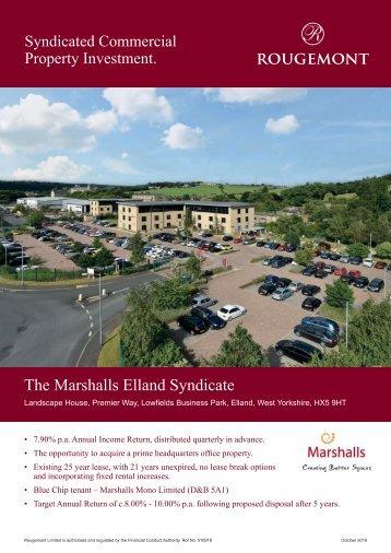 The Marshalls Elland Syndicate