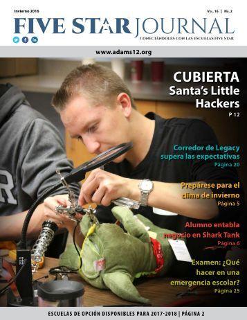 Spanish 2016 Winter Five Star Journal