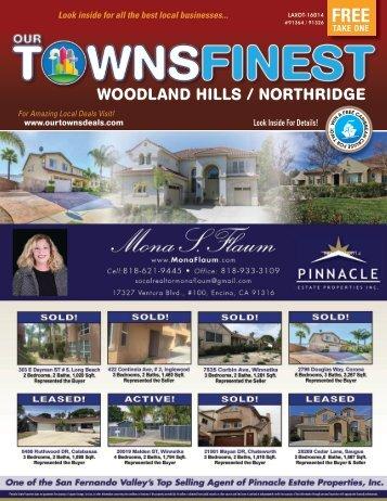 Woodland Hills / Northridge CA 91364