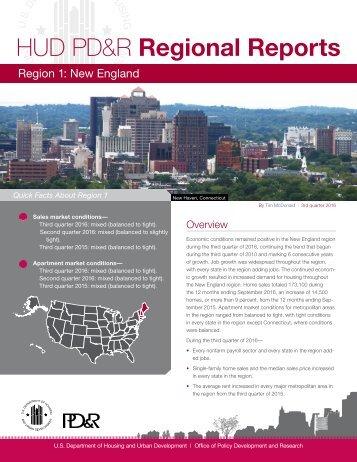 HUD PD&R Regional Reports
