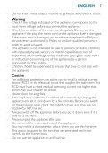 Philips SalonDry Active ION Sèche-cheveux - Mode d'emploi - ZHT - Page 7