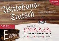 A gechan Durschd - Gasthof Sporrer
