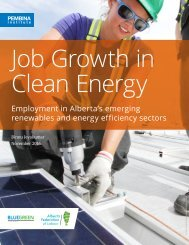 Job Growth in Clean Energy