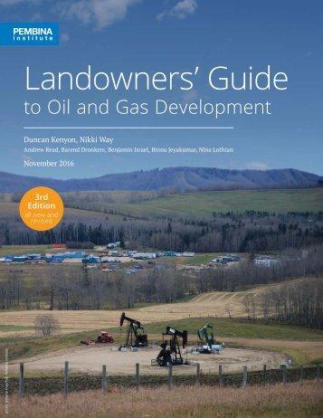 Landowners' Guide