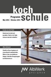 Programm - Alb-Elektrizitaetswerk Geislingen-Steige eG