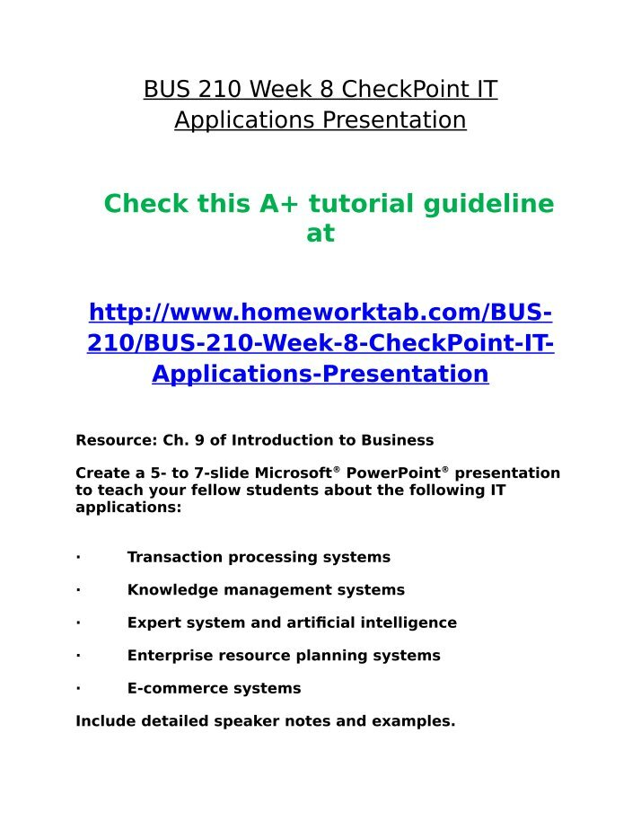 bus 210 week 8 appendix e Bus 210 week 8-appendix e - hardware software components 04/07/2015 bus 210 week 7-checkpoint - the impact of hrm 04/07/2015 bus 210 week 6-checkpoint.