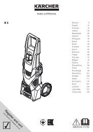 Karcher K 3 *EU - manuals