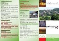 Gastgeberverzeichnis - Stadt Kierspe