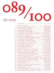 Ausgabe 06-2009 als PDF vonhundert_2009-06_komplett.pdf