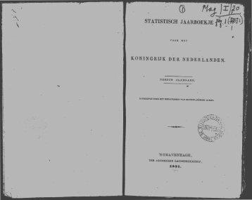 Netherlands Yearbook - 1851_ocr