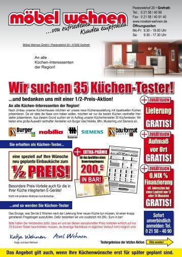 7 free magazines from moebel wehnen de. Black Bedroom Furniture Sets. Home Design Ideas
