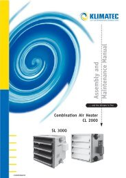Combination Air Heater CL 2000