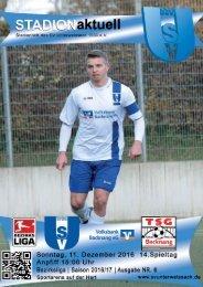 Derby SV Unterweissach - TSG Backnang II