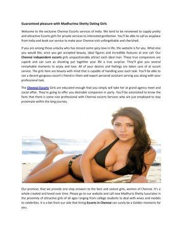 Guaranteed pleasure with Madhurima Shetty Dating Girls