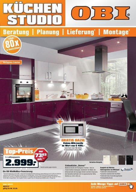 Planung | Lieferung - OBI Baumarkt Franken