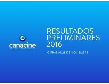 RESULTADOS PRELIMINARES 2016