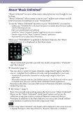 Sony NWZ-S764BT - NWZ-S764BT Istruzioni per l'uso Inglese - Page 3
