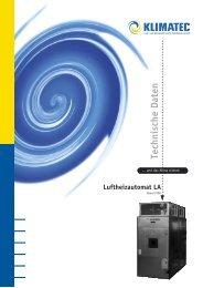 4echnische ,uftheizautomat - Klimatec Luft