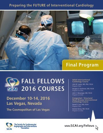 FALL FELLOWS