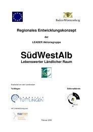 Regionales Entwicklungskonzept der LEADER Aktionsgruppe ...