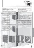 Technische Daten SL 3000 Kombi-Luftheizer CL 2000 - Klimatec Luft - Page 7