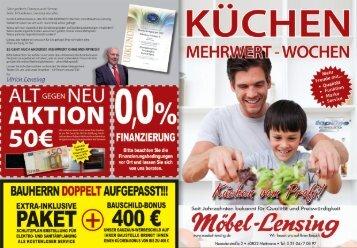 JETZT 400,- € Bauschild-Rabatt sichern!