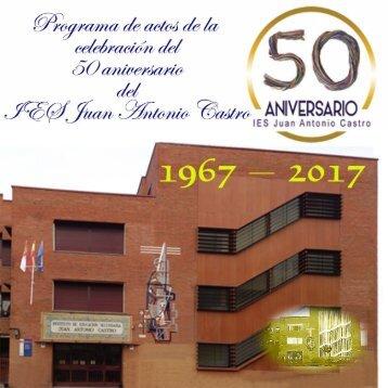 Programa de Actos 50º Aniversario