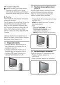 Philips Téléviseur numérique à écran large - Mode d'emploi - FIN - Page 6