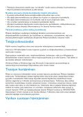 Philips Baladeur audio/vidéo à mémoire flash - Mode d'emploi - FIN - Page 6