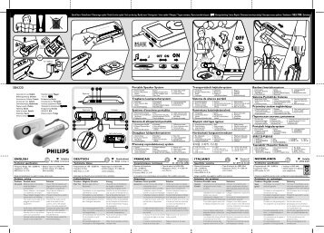 Philips Enceintes portables - Mode d'emploi - AEN