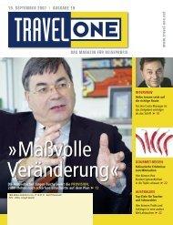 Maßvolle Veränderung - Travel-One