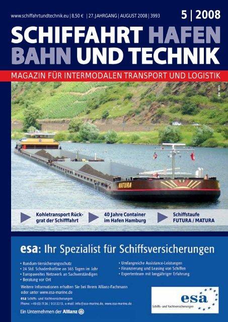 MAGAZIN FÜR INTERMODALEN TRANSPORT und Logistik