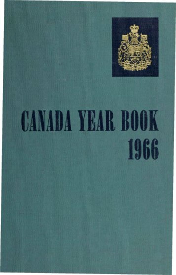 Canada Yearbook - 1966