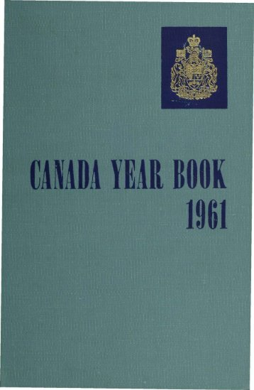 Canada Yearbook - 1961